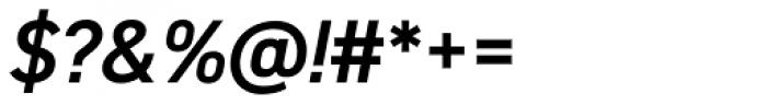 DIN 2014 Demi Italic Font OTHER CHARS