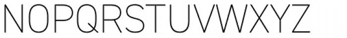 DIN 2014 ExtraLight Font UPPERCASE