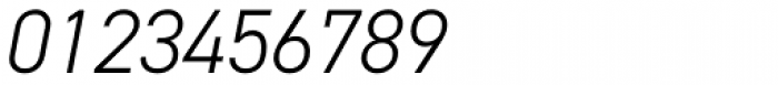 DIN 2014 Light Italic Font OTHER CHARS