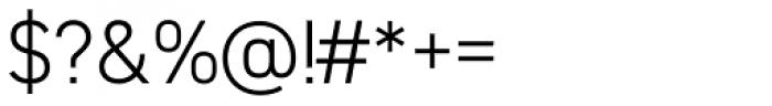 DIN 2014 Light Font OTHER CHARS