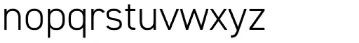 DIN 2014 Light Font LOWERCASE