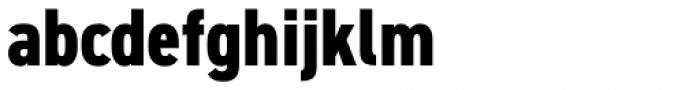 DIN 2014 Narrow ExtraBold Font LOWERCASE