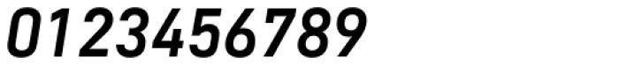 DIN Mittel CY Medium Italic Font OTHER CHARS