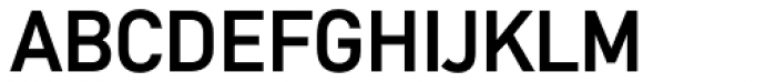 DIN Mittel CY Medium Font UPPERCASE
