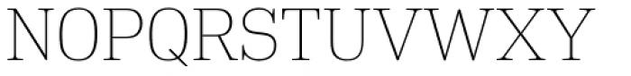 DIN Neue Roman Thin Font UPPERCASE