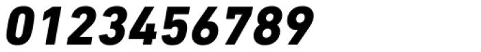 DIN Next Cyrillic Heavy Italic Font OTHER CHARS