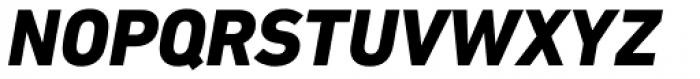 DIN Next Cyrillic Heavy Italic Font UPPERCASE