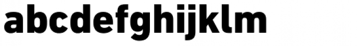 DIN Next Cyrillic Heavy Font LOWERCASE
