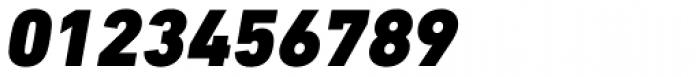 DIN Next Paneuropean W1G Black Italic Font OTHER CHARS