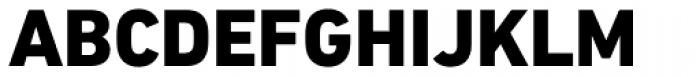 DIN Next Paneuropean W1G Heavy Font UPPERCASE
