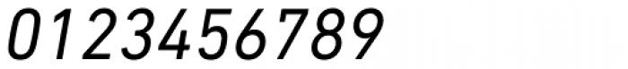 DIN Next Paneuropean W1G Italic Font OTHER CHARS