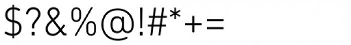 DIN Next Paneuropean W1G Light Font OTHER CHARS