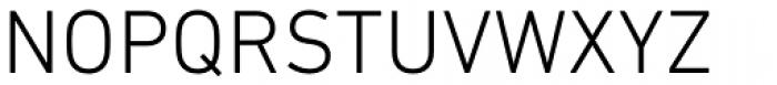 DIN Next Paneuropean W1G Light Font UPPERCASE