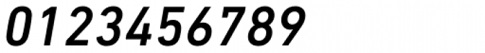 DIN Next Paneuropean W1G Medium Italic Font OTHER CHARS