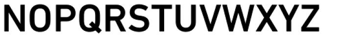 DIN Next Paneuropean W1G Medium Font UPPERCASE