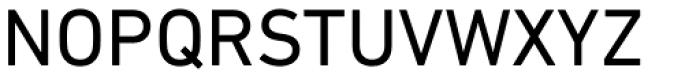 DIN Next Paneuropean W1G Regular Font UPPERCASE