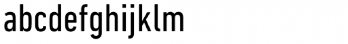 DIN Next Pro Condensed Font LOWERCASE