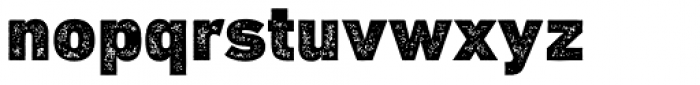 DIN Next Rust Black Font LOWERCASE