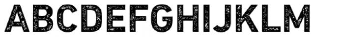 DIN Next Rust Bold Font UPPERCASE