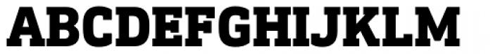 DIN Next Slab Heavy Font UPPERCASE