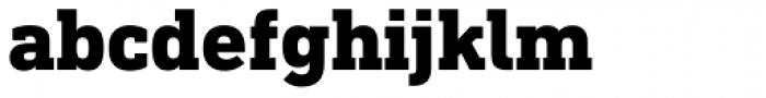 DIN Next Slab Heavy Font LOWERCASE