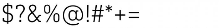 DIN Next Slab Light Font OTHER CHARS