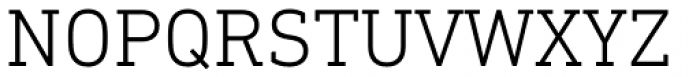 DIN Next Slab Light Font UPPERCASE