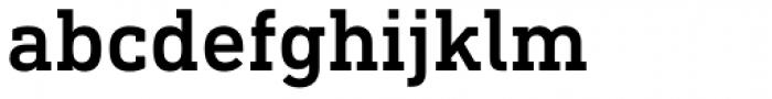 DIN Next Slab Medium Font LOWERCASE