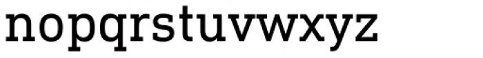 DIN Next Slab Font LOWERCASE