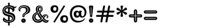 Diablitos Inline Font OTHER CHARS