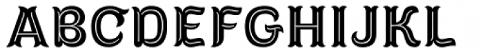 Diablitos Inline Font UPPERCASE