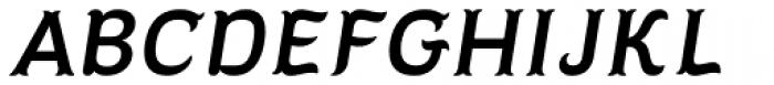 Diablitos Light Oblique Font UPPERCASE