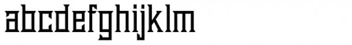 Diablo Bold Font LOWERCASE