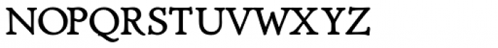 Diaconia Old Style SmallCaps Font LOWERCASE