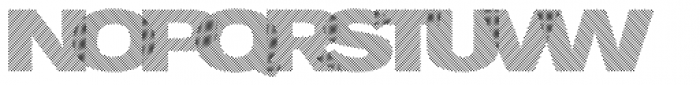 Diago Cross Font UPPERCASE