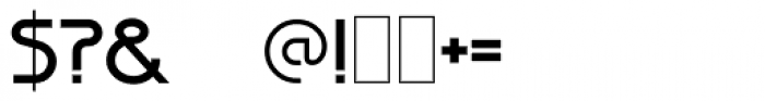 Diagonal ND Font OTHER CHARS