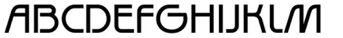 Diagonal ND Font UPPERCASE