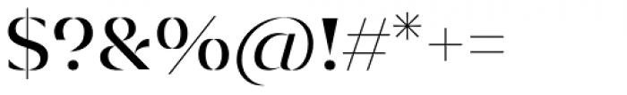 Diagram Display Regular Font OTHER CHARS