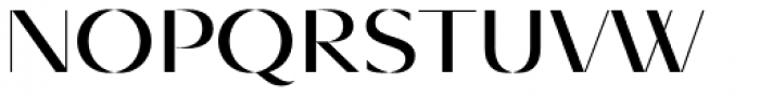 Diagram Display Regular Font UPPERCASE
