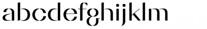 Diagram Display Regular Font LOWERCASE