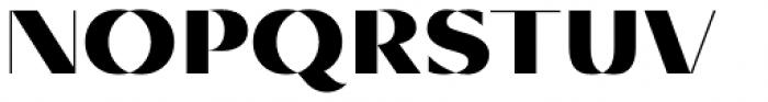 Diagram Display Ultra Font UPPERCASE