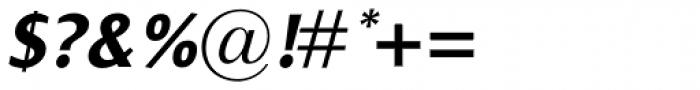 Dialog Pro Bold Italic Font OTHER CHARS