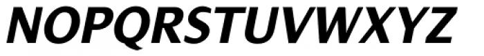 Dialog Pro Bold Italic Font UPPERCASE