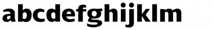 Dialog Pro ExtraBold Font LOWERCASE