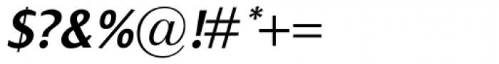 Dialog SemiBold Italic Font OTHER CHARS
