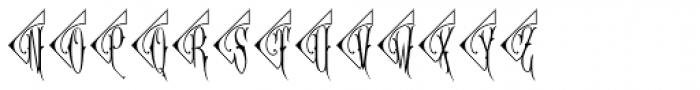 Diamant Monogram (10000 Impressions) Font UPPERCASE