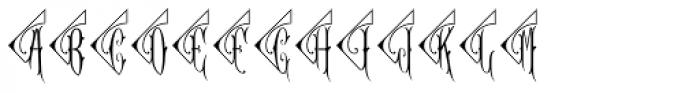 Diamant Monogram Solid (1000 Impressions) Font UPPERCASE