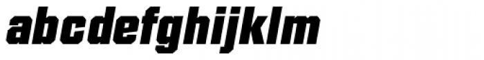 Diamante EF ExtraBold Italic Font LOWERCASE