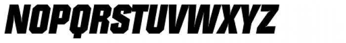 Diamante Serial Heavy Italic Font UPPERCASE