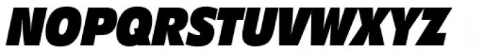 Diamanti Condensed EF Black Italic Font UPPERCASE